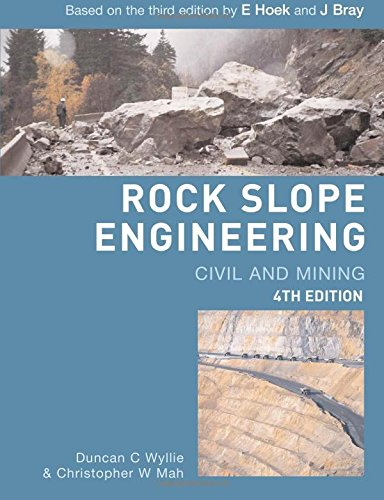 9780415280013: Rock Slope Engineering: Fourth Edition: Civil and Mining
