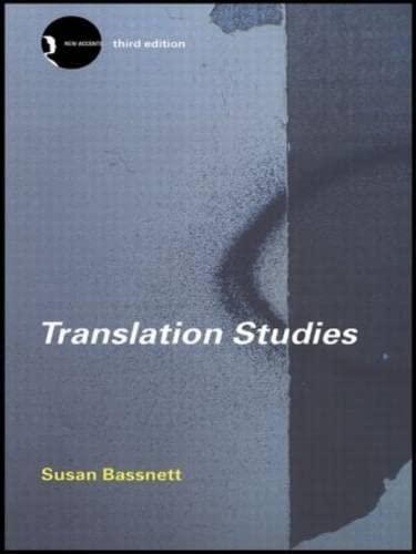 9780415280143: Translation Studies