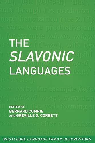 9780415280785: The Slavonic Languages (Routledge Language Family Series)