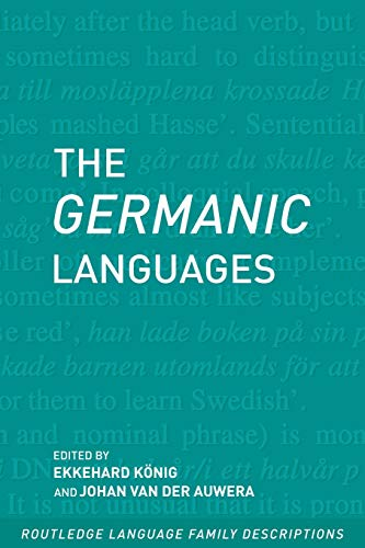 9780415280792: The Germanic Languages (Routledge Language Family Series)