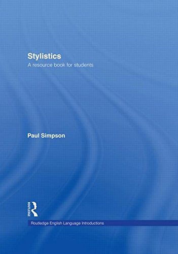 9780415281041: Stylistics: A Resource Book for Students (Routledge English Language Introductions)