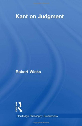 9780415281102: Routledge Philosophy GuideBook to Kant on Judgment (Routledge Philosophy GuideBooks)