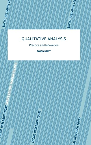 9780415281263: Qualitative Analysis (Social Research Today)