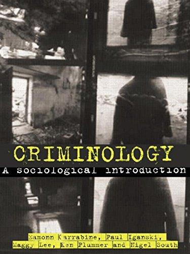 9780415281683: Criminology: A Sociological Introduction