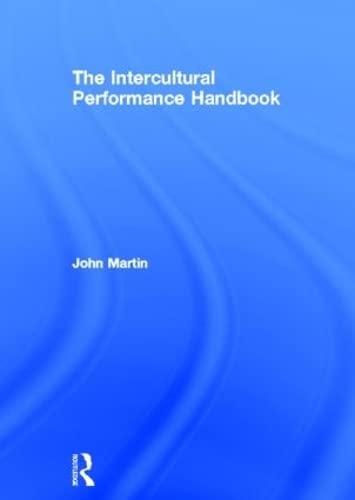 9780415281874: The Intercultural Performance Handbook