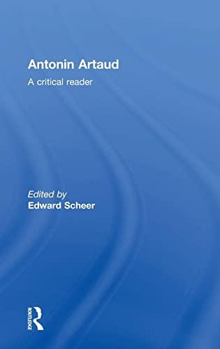 Antonin Artaud A Critical Reader