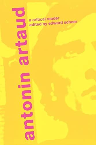 9780415282550: Antonin Artaud: A Critical Reader