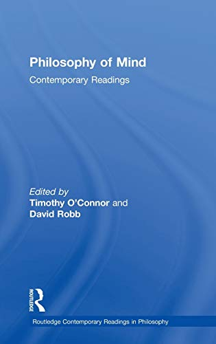 9780415283533: Philosophy of Mind: Contemporary Readings (Routledge Contemporary Readings in Philosophy)