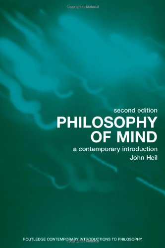 9780415283557: Philosophy of Mind: A Contemporary Introduction (Routledge Contemporary Introductions to Philosophy)