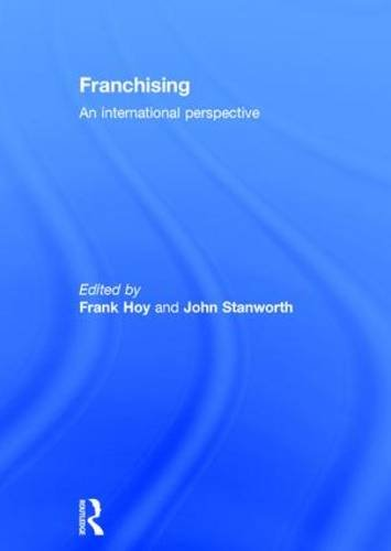 9780415284189: Franchising: An International Perspective