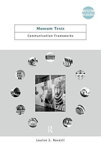 9780415284301: Museum Texts: Comunication Frameworks