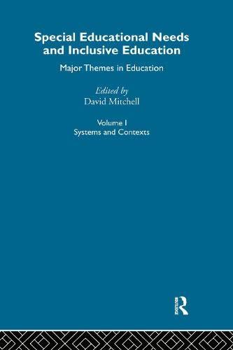 9780415284530: Special Educ Needs&Inclus V1