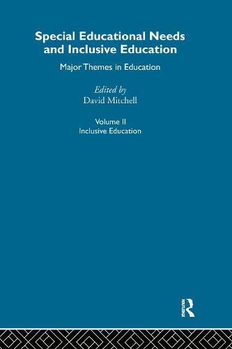 9780415284547: Special Educ Needs&Inclus V2