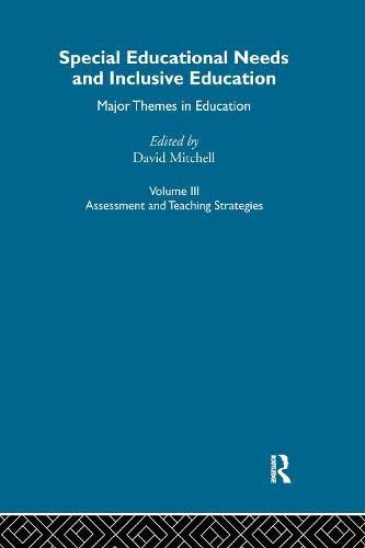 9780415284554: Special Educ Needs&Inclus V3