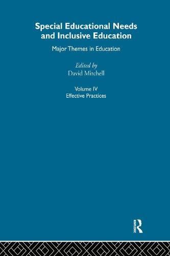 9780415284561: Special Educ Needs&Inclus V4