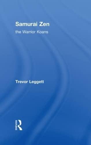 9780415284646: Samurai Zen: The Warrior Koans
