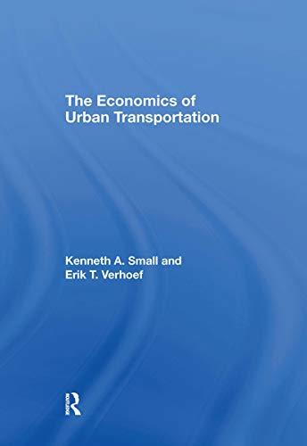 9780415285148: The Economics of Urban Transportation