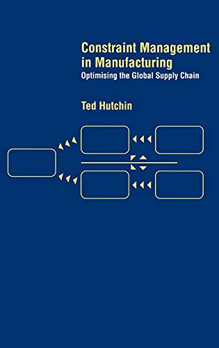 9780415285193: Constraint Management in Manufacturing: Optimising the Supply Chain