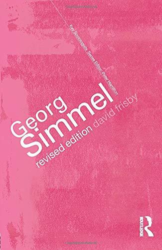 9780415285353: Georg Simmel (Key Sociologists)