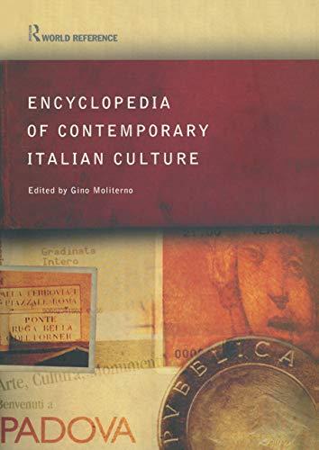 9780415285568: Encyclopedia of Contemporary Italian Culture