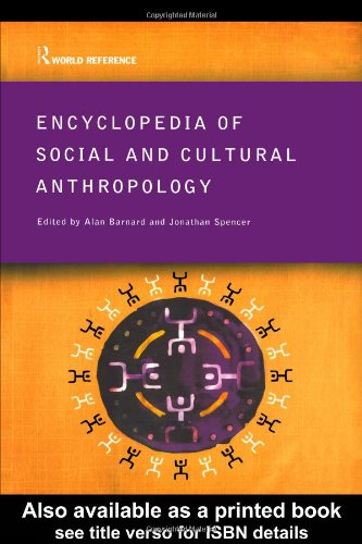 9780415285582: Encyclopedia of Social and Cultural Anthropology (Routledge World Reference)