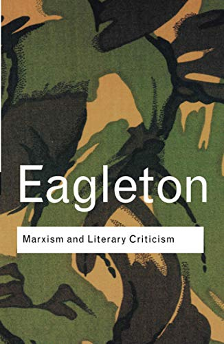 9780415285841: Marxism and Literary Criticism (Routledge Classics)