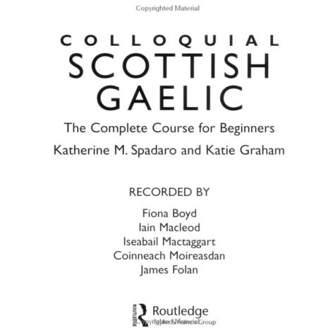 9780415286923: Colloquial Scottish Gaelic: The Complete Course for Beginners