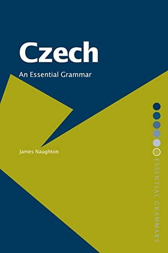 9780415287852: Czech: An Essential Grammar