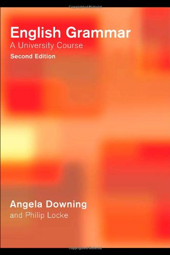 9780415287869: English Grammar: A University Course