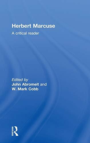 9780415289092: Herbert Marcuse: A Critical Reader