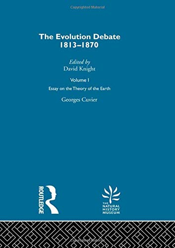 9780415289238: Essay on the Theory of the Earth: The Evolution Debate, 1813-1870 (Volume I) (Volume 2)