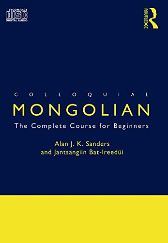 9780415289498: Colloquial Mongolian: The Complete Course for Beginners (Colloquial Series)