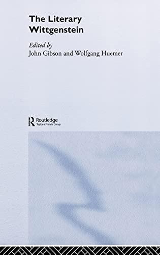 9780415289726: The Literary Wittgenstein