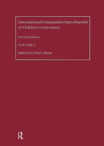 9780415290531: International Companion Encyclopedia of Children's Literature