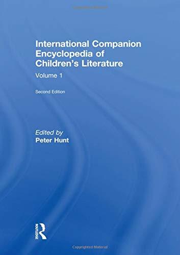 9780415290548: Intl Comp Ency Child Lit E2 V1: 001