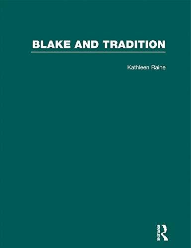 9780415290883: Blake & Tradition V2: Volume 2