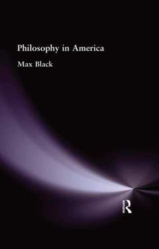 9780415295390: Philosophy in America (Muirhead Library of Philosophy) (Volume 75)
