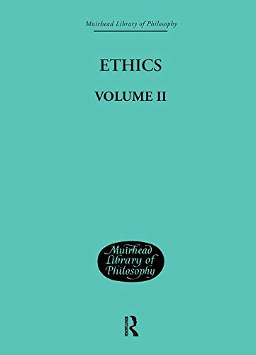 Ethics: Volume II (Muirhead Library of Philosophy) (Volume 27): Hartmann Nicolai