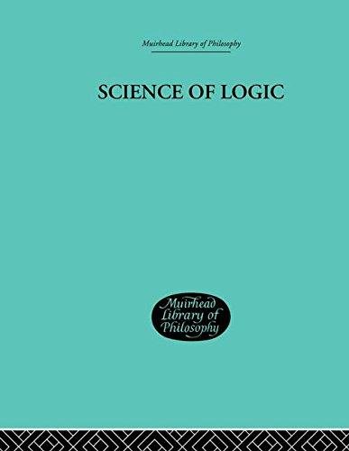 9780415295840: Science of Logic (Muirhead Library of Philosophy) (Volume 86)