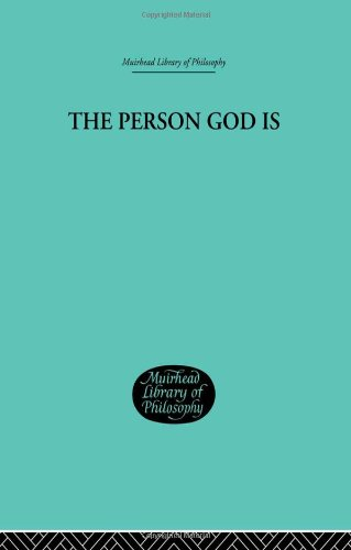 9780415296236: The Person God Is (Muirhead Library of Philosophy) (Volume 68)