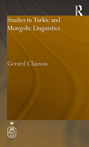 Studies in Turkic and Mongolic Linguistics. Routledge.: CLAUSON, GERARD.