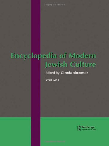 9780415298131: Encyclopedia of Modern Jewish Culture