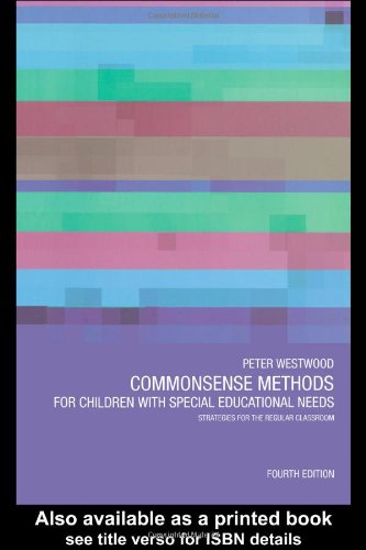 9780415298490: Commonsense Methods for Children with Special Educational Needs