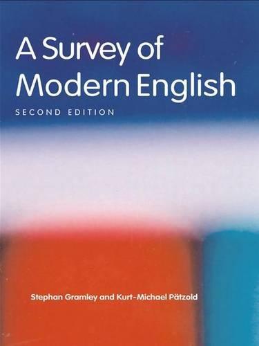 9780415300346: A Survey of Modern English