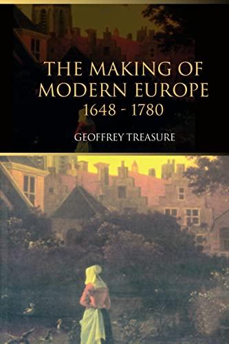 9780415301558: The Making of Modern Europe, 1648-1780