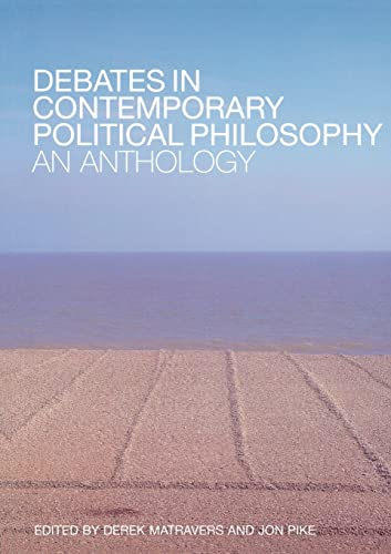 9780415302111: Debates in Contemporary Political Philosophy: An Anthology