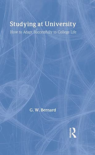 9780415303118: Studying at University: How to Adapt Successfully to College Life