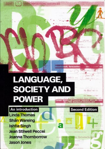 9780415303941: Language, Society and Power: An Introduction: Volume 2