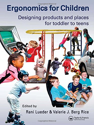 9780415304740: Ergonomics for Children: Designing products and places for toddler to teens