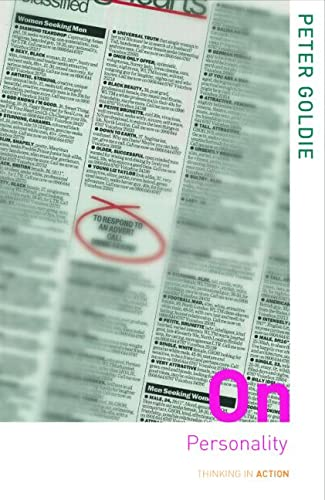 9780415305136: On Personality (Thinking in Action)